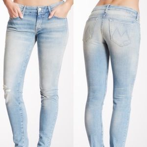 •MOTHER• The Looker Skinny Jeans Love Drunk Cowboy